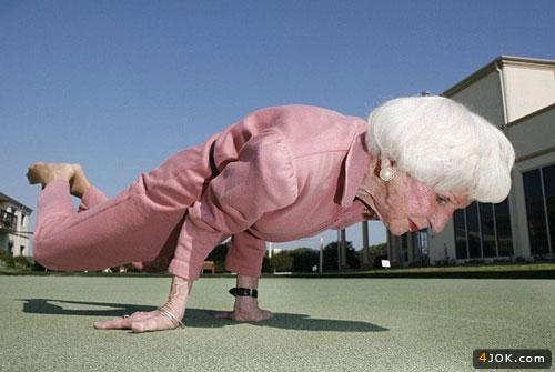 قویترین پیرزن دنیا