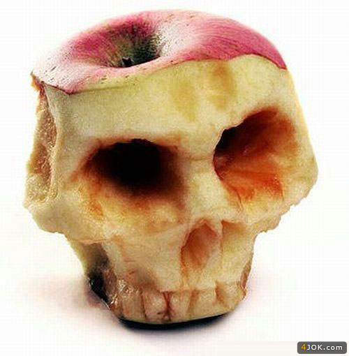 خلق هنر وحشیانه در سیب