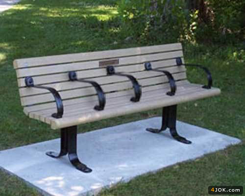 حفظ حریم خصوصی در مبل عمومی پارک