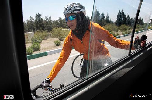 پیشرفت دوچرخه سواری بانوان در ایران