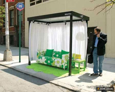 مدل سوسولی ایستگاه اتوبوس