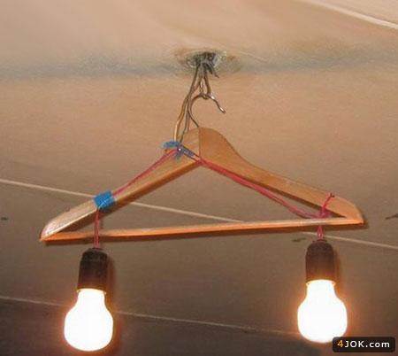 لوستر دو لامپه ، با امکانات ویژه