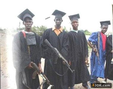 فارغ التحصیل تروریست در زامبیا !
