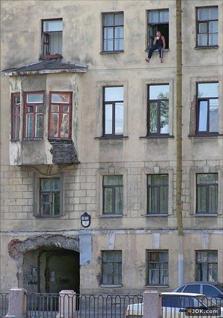 چه فازی میده ، رو پنجره طبقه 4 چایی بزنی
