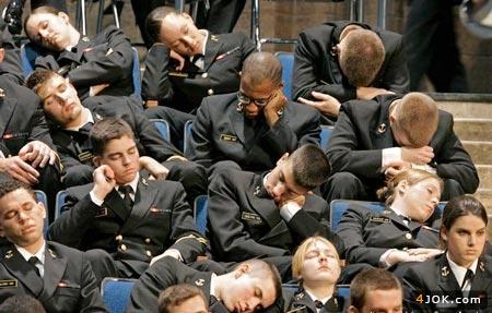 خواب دانشجویان