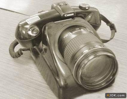 دوربین تلفنی مربوط به دوره تیغ علی شاه