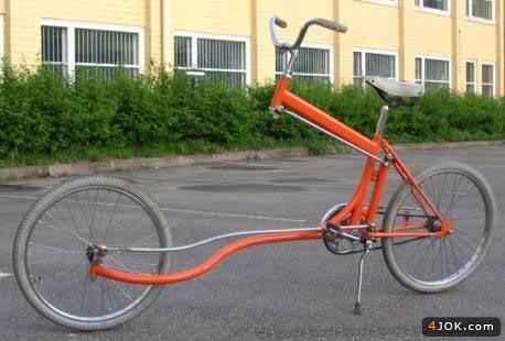 مدلی متفاوت از دوچرخه