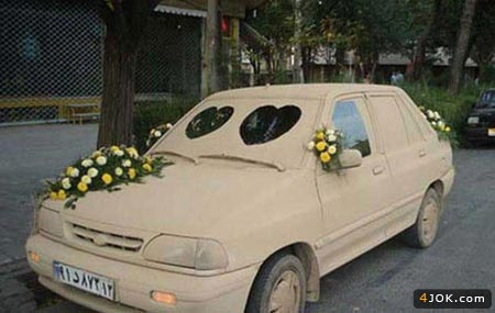 ماشین رومانتیک گِلی !