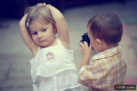 عکاس و مدل در آخر الزمون