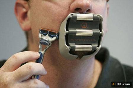 جدیدترین ابزار برای خط انداختن ریش پروفسری !