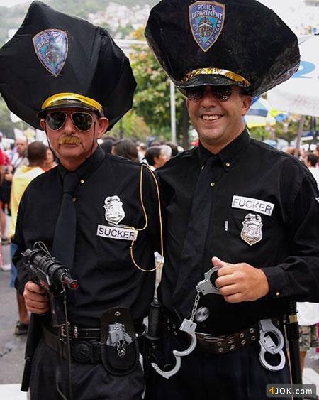 پلیس نمونه به اینا میگن
