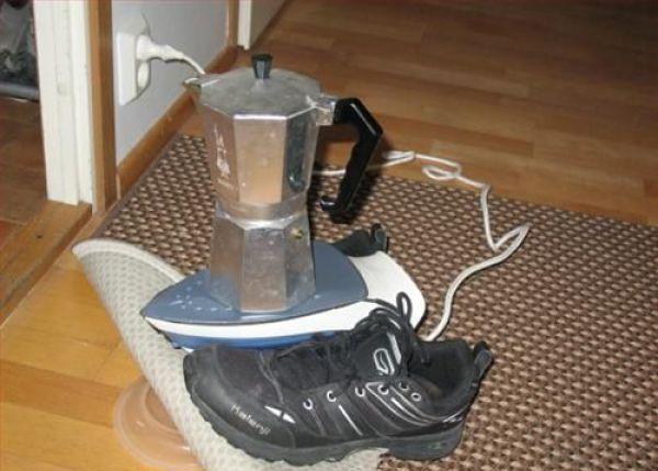 حماسه آفرینی و استفاده از ابزار ویژه برای یه استکان چایی !