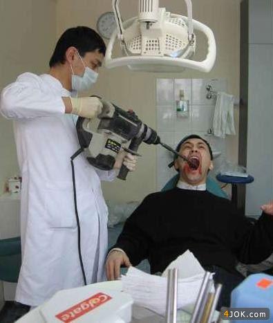 دکتر جان ، دندون آخری هم کمی عصب کشی میخواد !