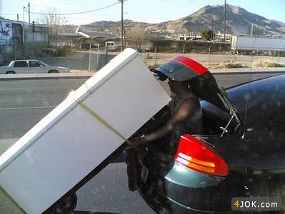ابداع روشهای مدرن حمل و نقل در عصر تکنولوژی ، احسنت به این هوش !
